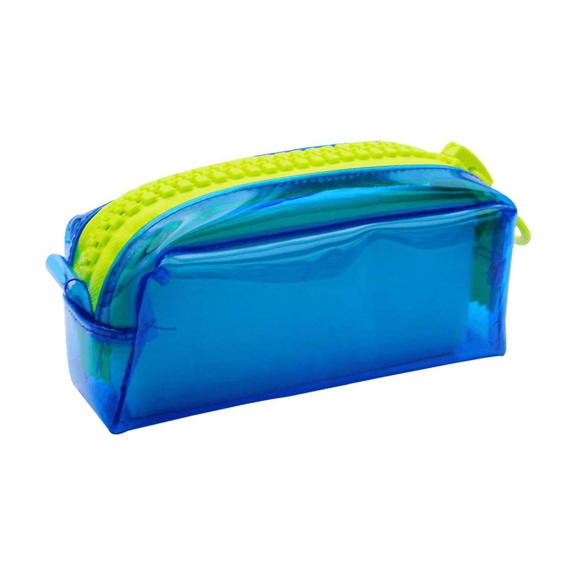 Necessarie College Mega Ziper Azul