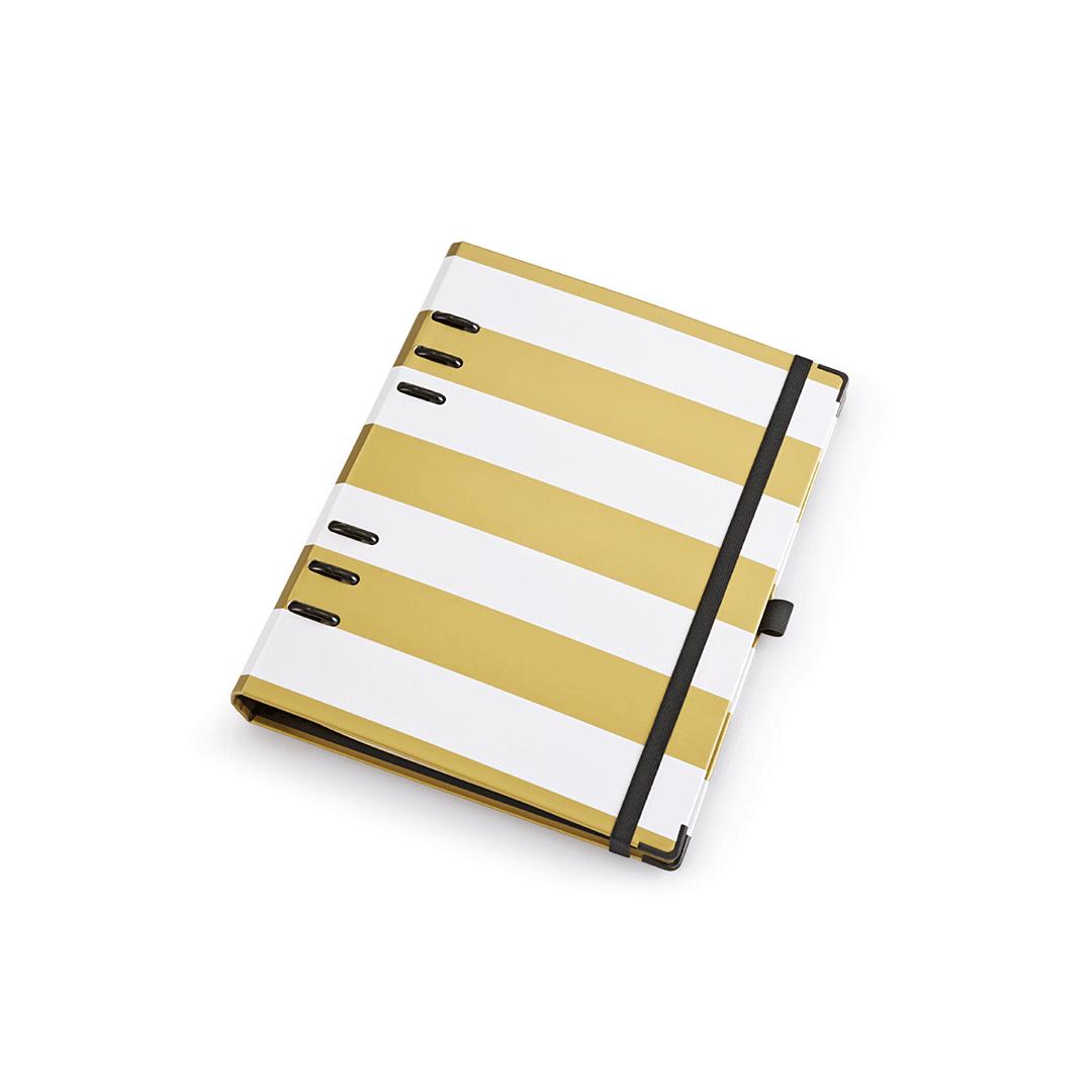 Planner A5 Gold Branco