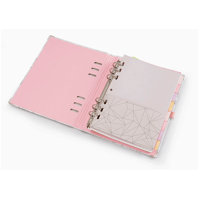 Planner A5 PinkStone Marmore
