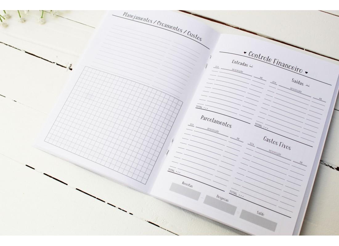 Planner Criativo + Módulo Financeiro Papelote