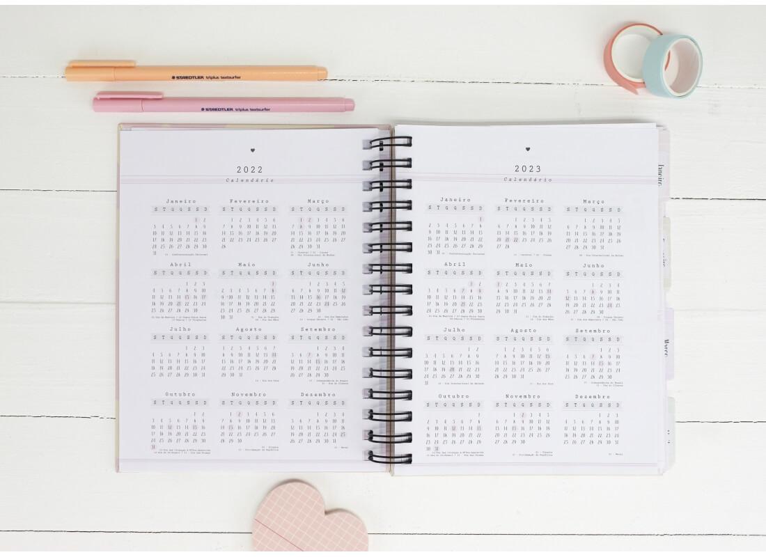 Planner  Permanente Um Dia De Cada Vez! Papelote