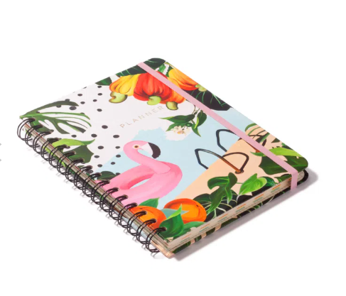 Planner Wire Flamingos