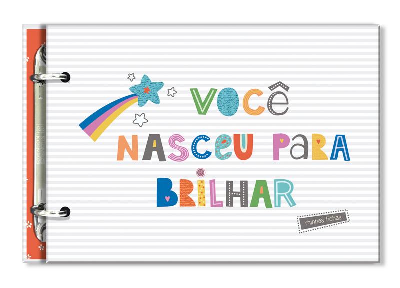 Porta Fichas Frases Coloridas Fina Ideia