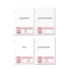 Refil Caderno Fichario Finaideia