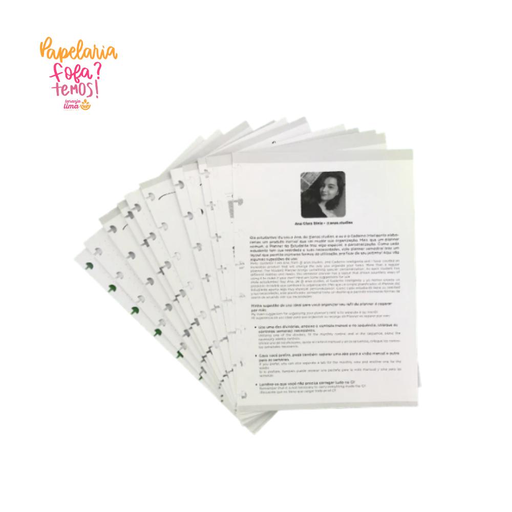 Refil Caderno Inteligente Planner da ANA A5