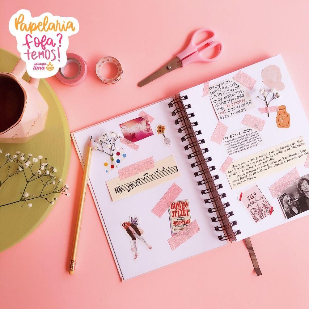 Sketchbook A5 Brilhe Planos Pontilhados