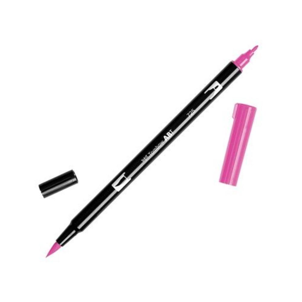 Brush Pen Tombow Dual Brush 725 RHODMIN RED