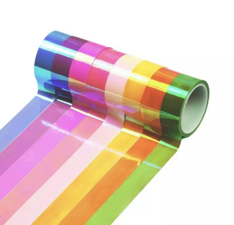 Washi Tape Holográfica com 10