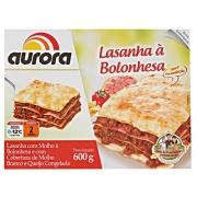 LASANHA BOLONHESA AURORA 600G