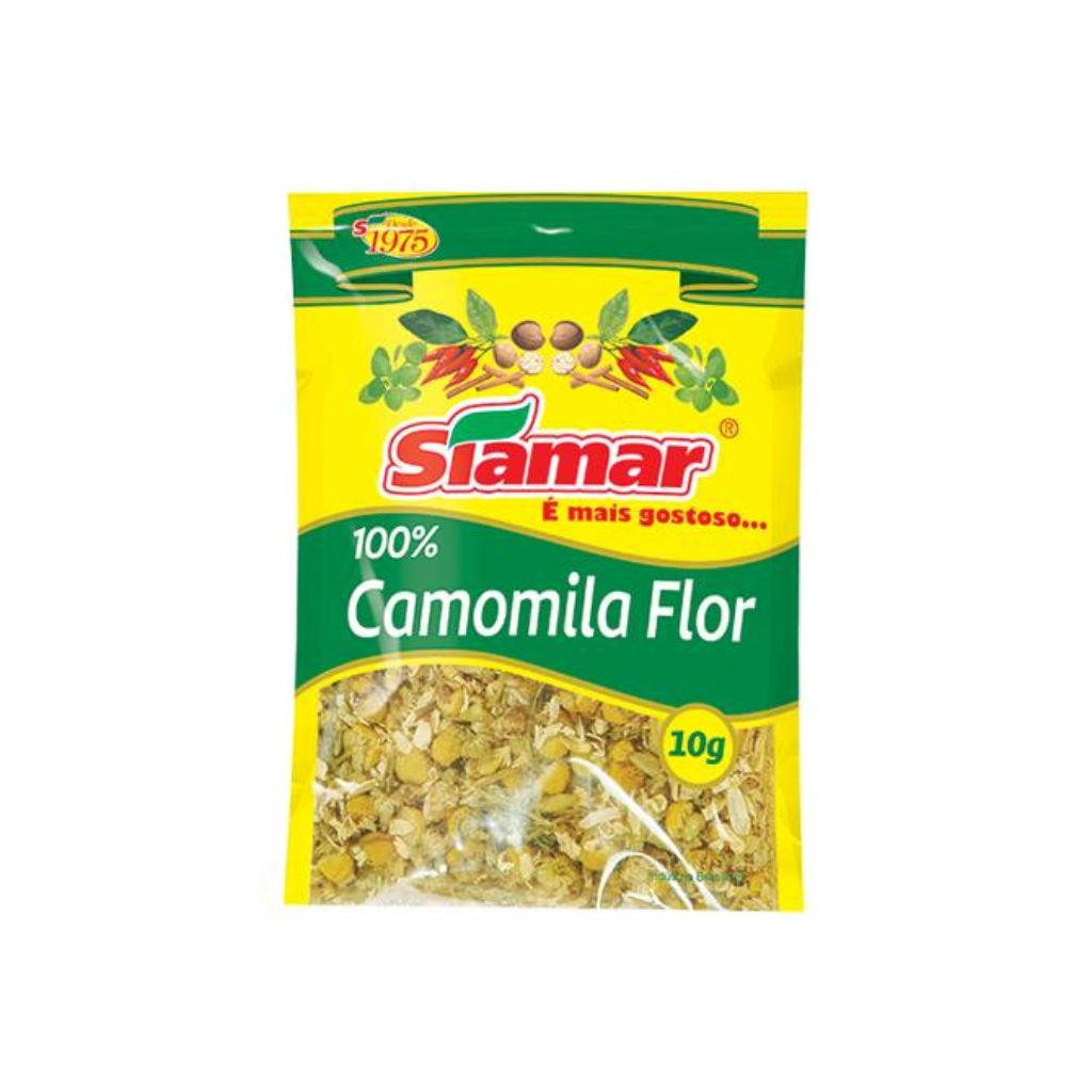 CAMOMILA FLOR (10G)  - JJPIVOTTO - Comercio de Frutas