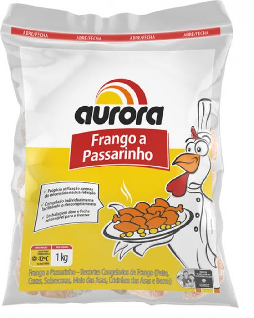 FRANGO A PASSARINHO AURORA 1KG  - JJPIVOTTO - Comercio de Frutas