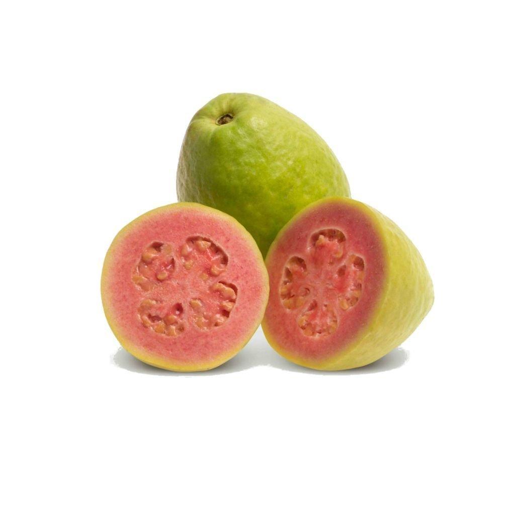 GOIABA VERMELHA (BANDEJA C/3)  - JJPIVOTTO - Comercio de Frutas