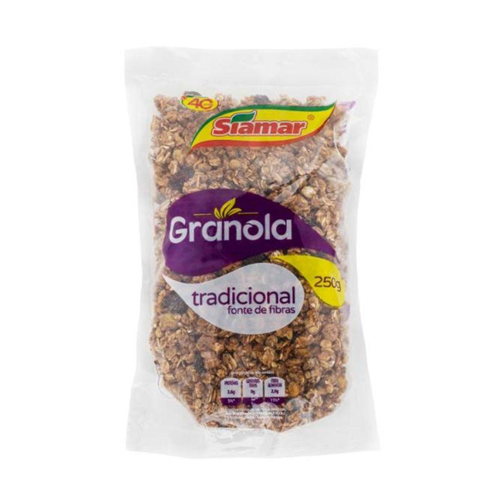 GRANOLA TRADICIONAL (250G)  - JJPIVOTTO - Comercio de Frutas