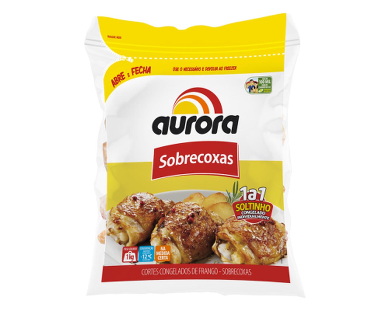 PACOTE SOBRECOXAS AURORA 1KG  - JJPIVOTTO - Comercio de Frutas
