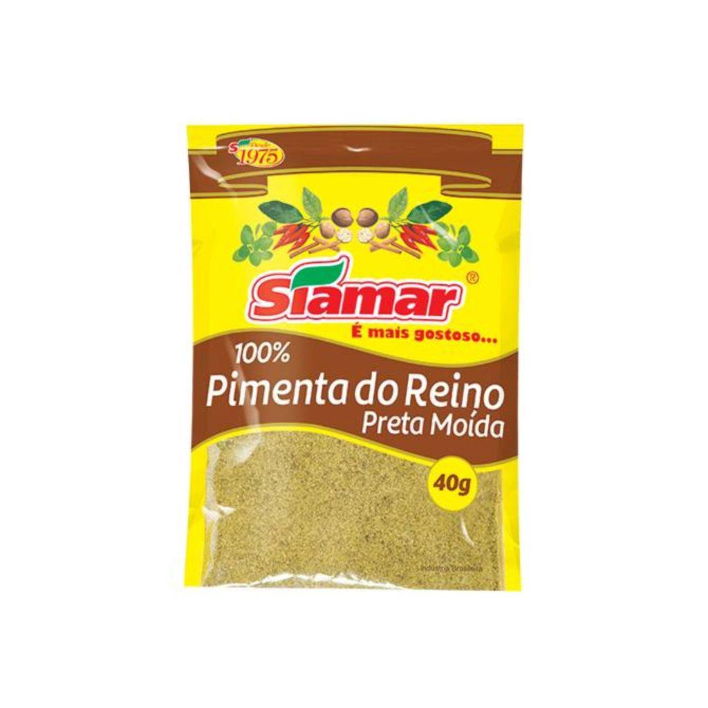 PIMENTA REINO PRETA MOIDA (40G)  - JJPIVOTTO - Comercio de Frutas