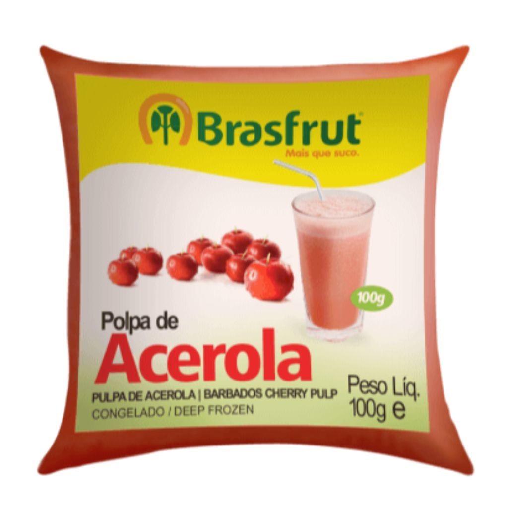 POLPA DE ACEROLA 100G  - JJPIVOTTO - Comercio de Frutas