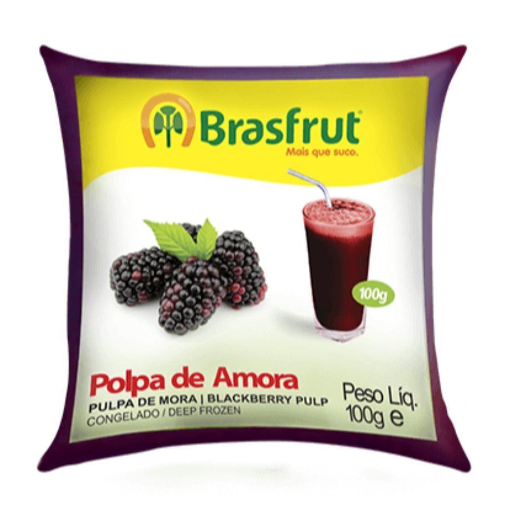 POLPA DE AMORA 100G  - JJPIVOTTO - Comercio de Frutas