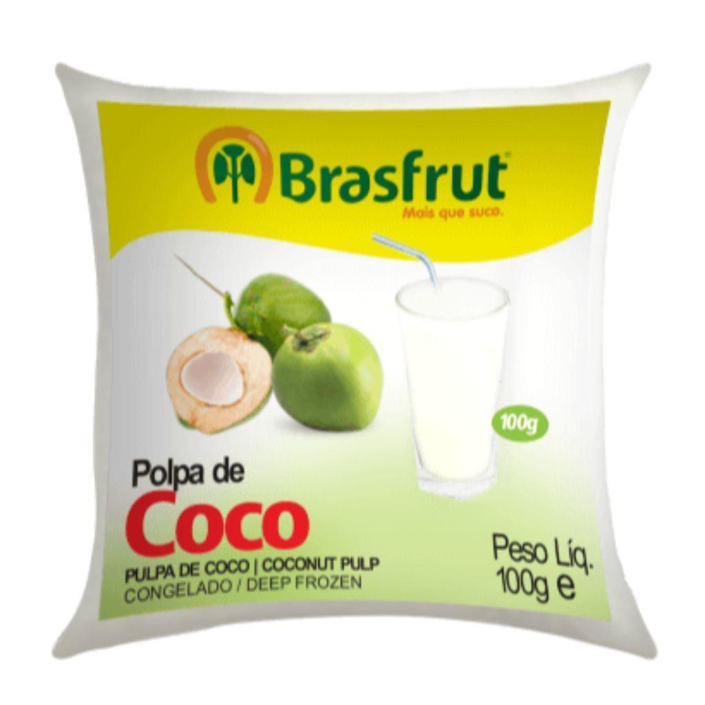 POLPA DE COCO 100G  - JJPIVOTTO - Comercio de Frutas