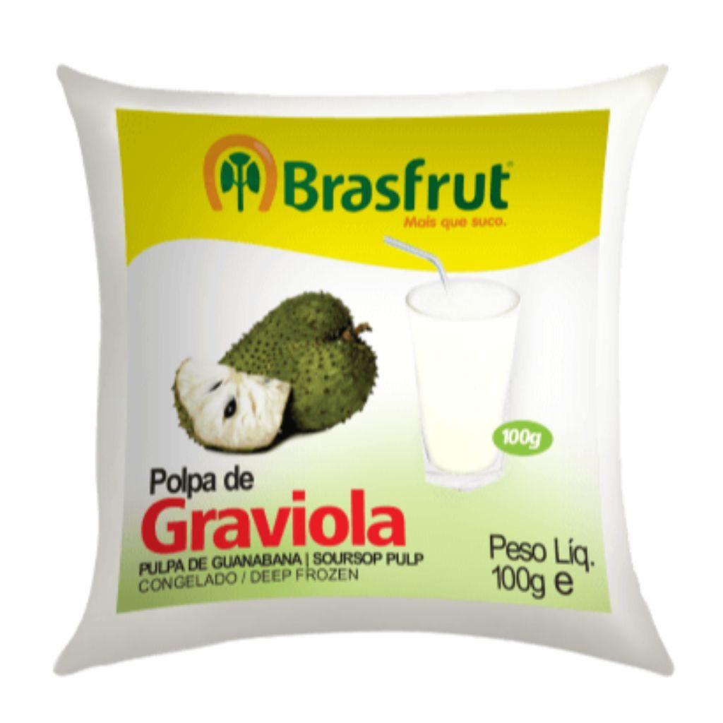 POLPA DE GRAVIOLA 100G  - JJPIVOTTO - Comercio de Frutas