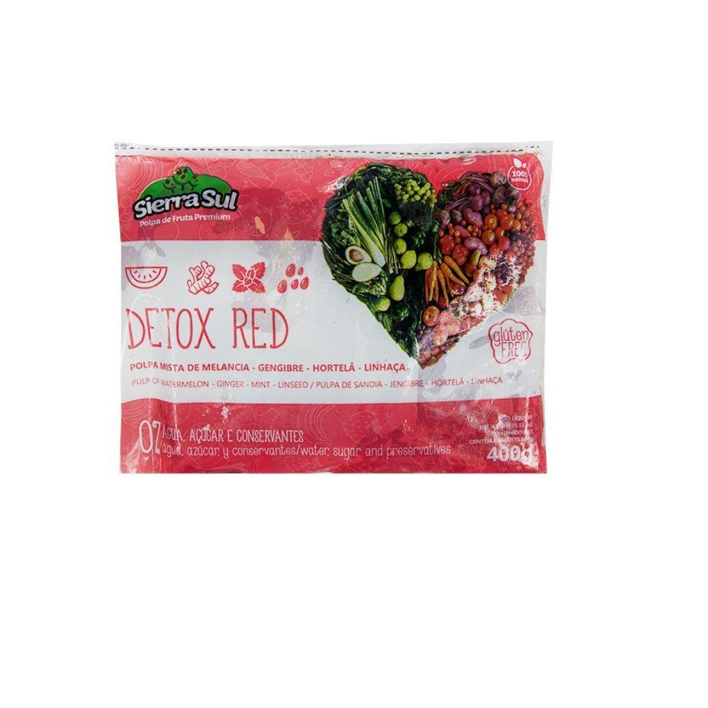 POLPA DETOX RED 400 G  - JJPIVOTTO - Comercio de Frutas