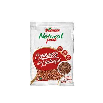 SEMENTE DE LINHACA (200G)  - JJPIVOTTO - Comercio de Frutas