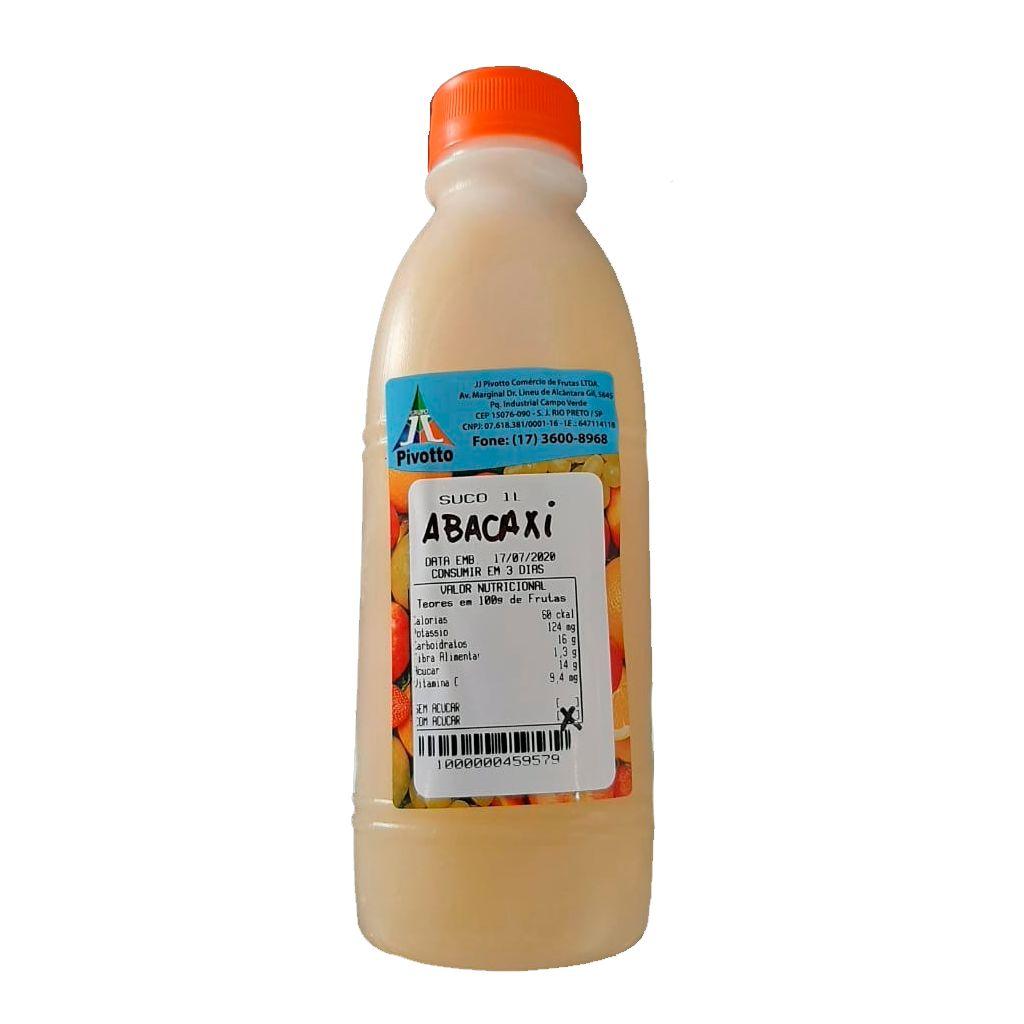 SUCO SABOR ABACAXI 1L  - JJPIVOTTO - Comercio de Frutas