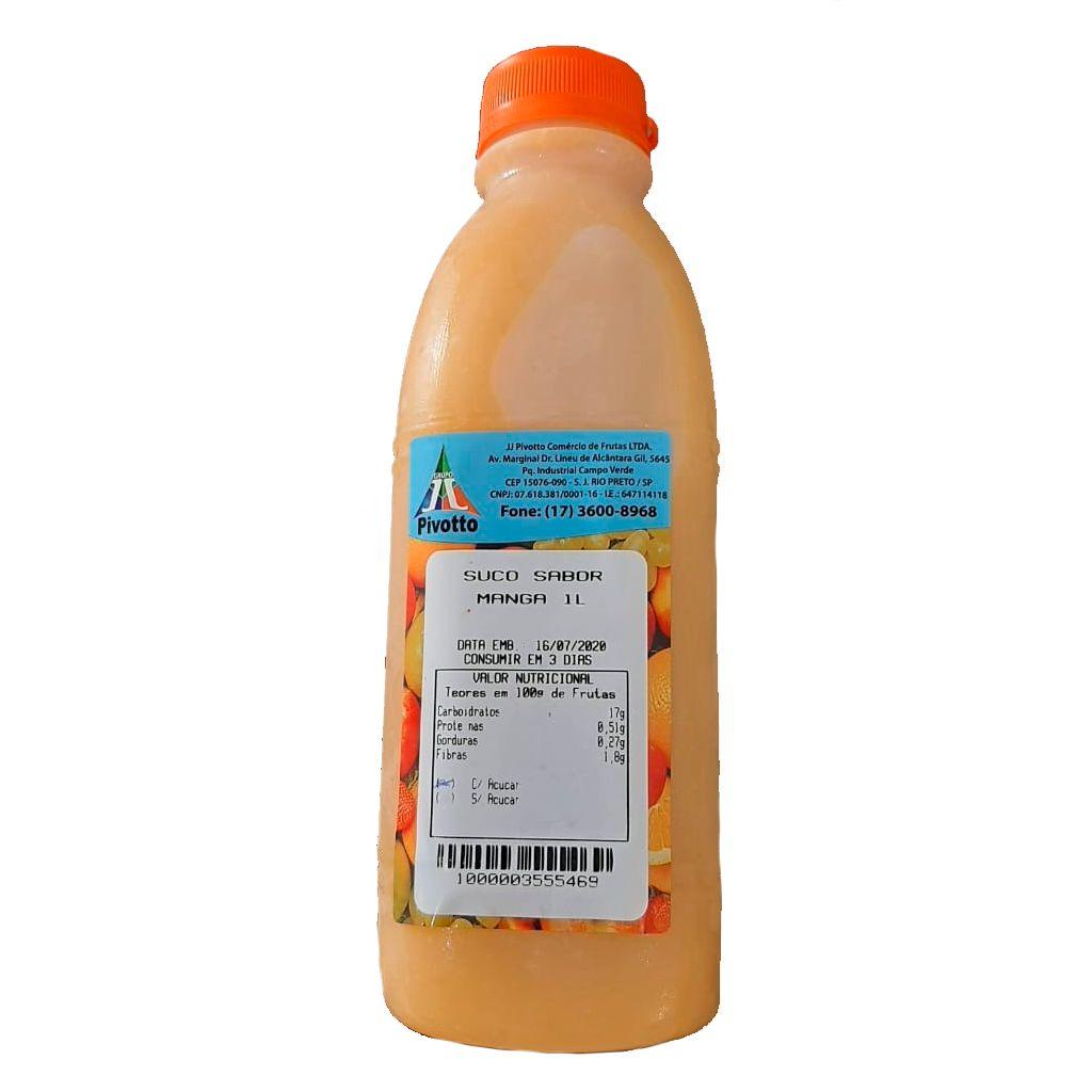 SUCO SABOR MANGA 1L  - JJPIVOTTO - Comercio de Frutas