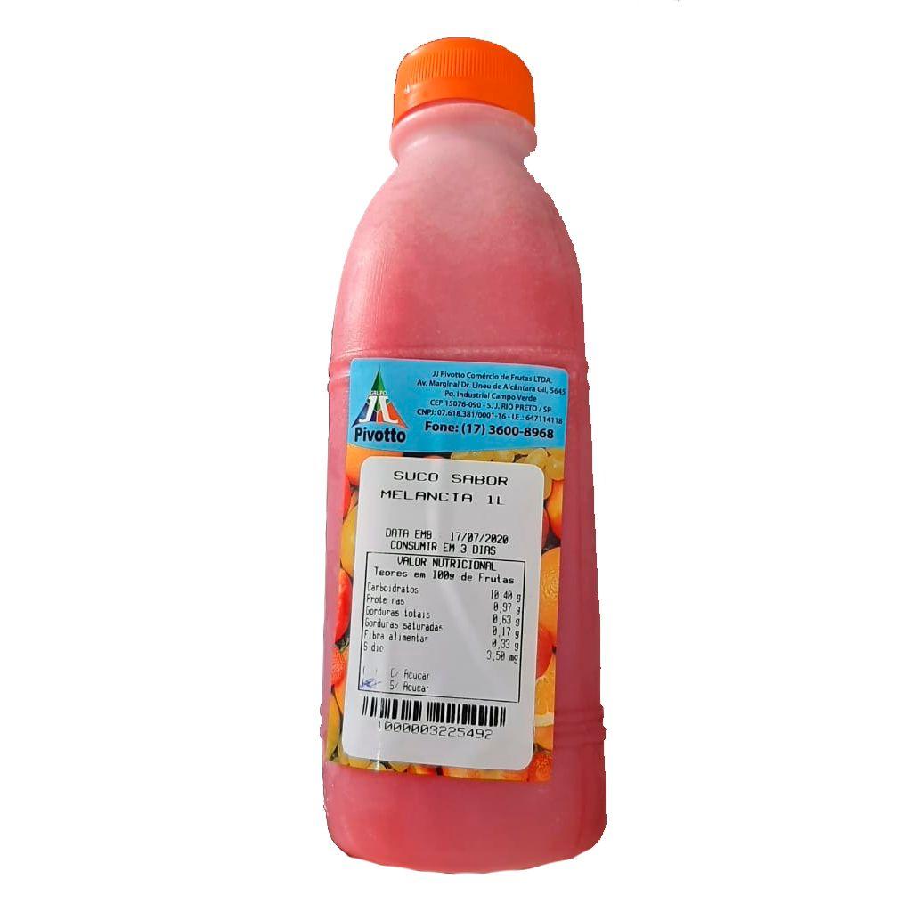 SUCO SABOR MORANGO 1L  - JJPIVOTTO - Comercio de Frutas