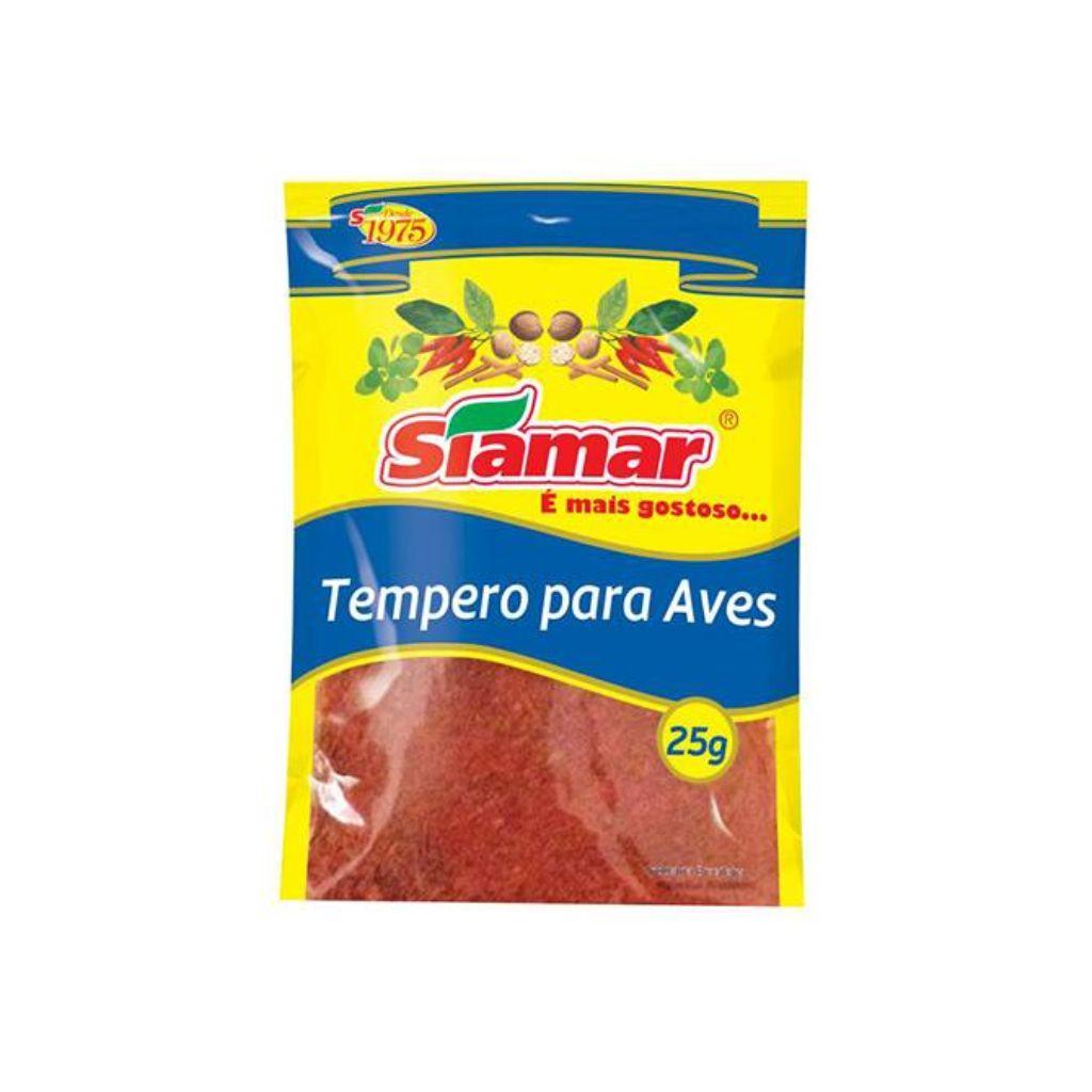 TEMPERO PARA AVES (25G)  - JJPIVOTTO - Comercio de Frutas