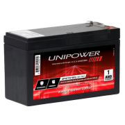 Bateria Selada 12v 7ah Unipower Up1270 Seg Indicado P/ Nobreak e Alarme