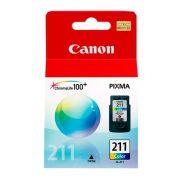 Cartucho de Tinta Canon 211 Colorido Original