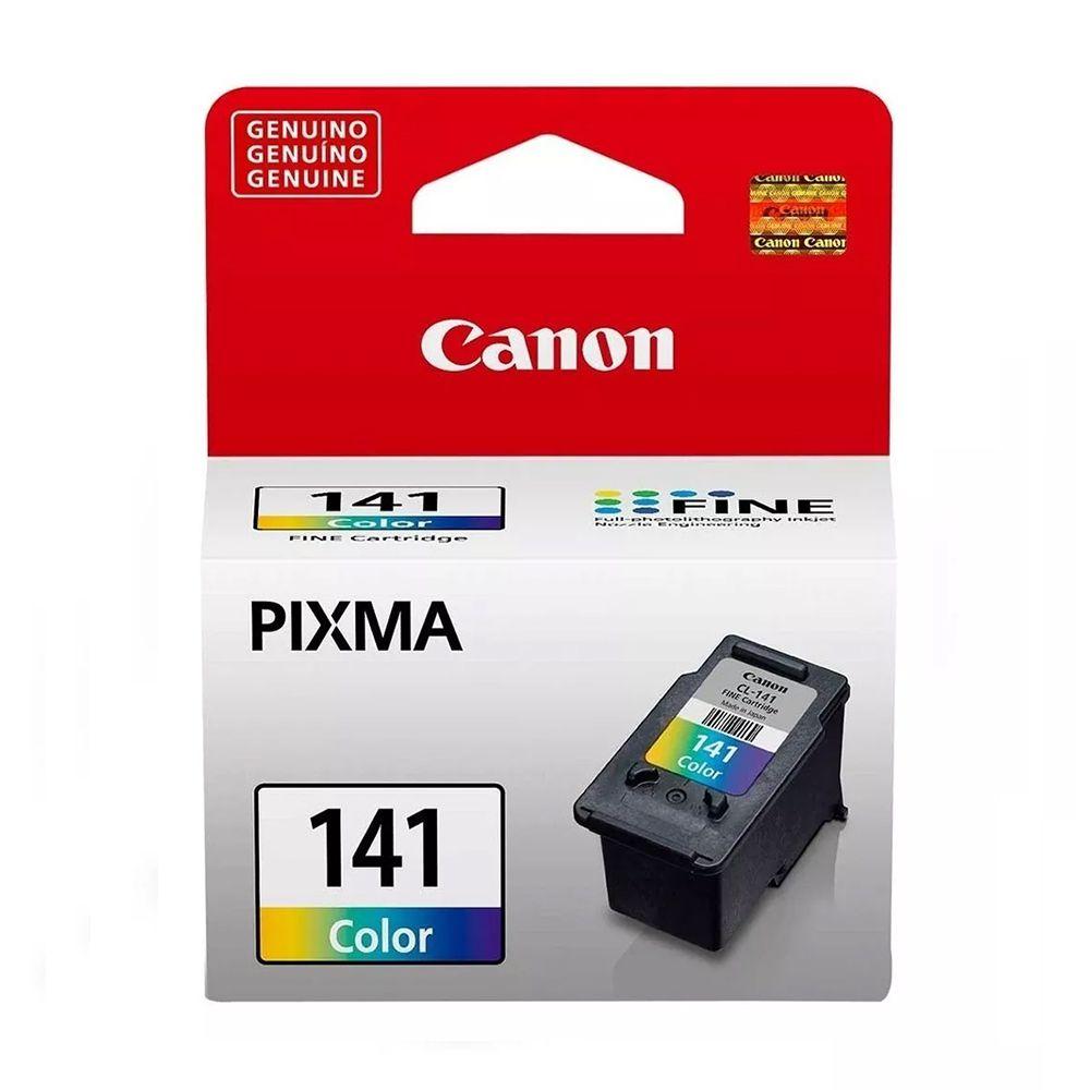 Cartucho de Tinta Canon 141 Colorido Original