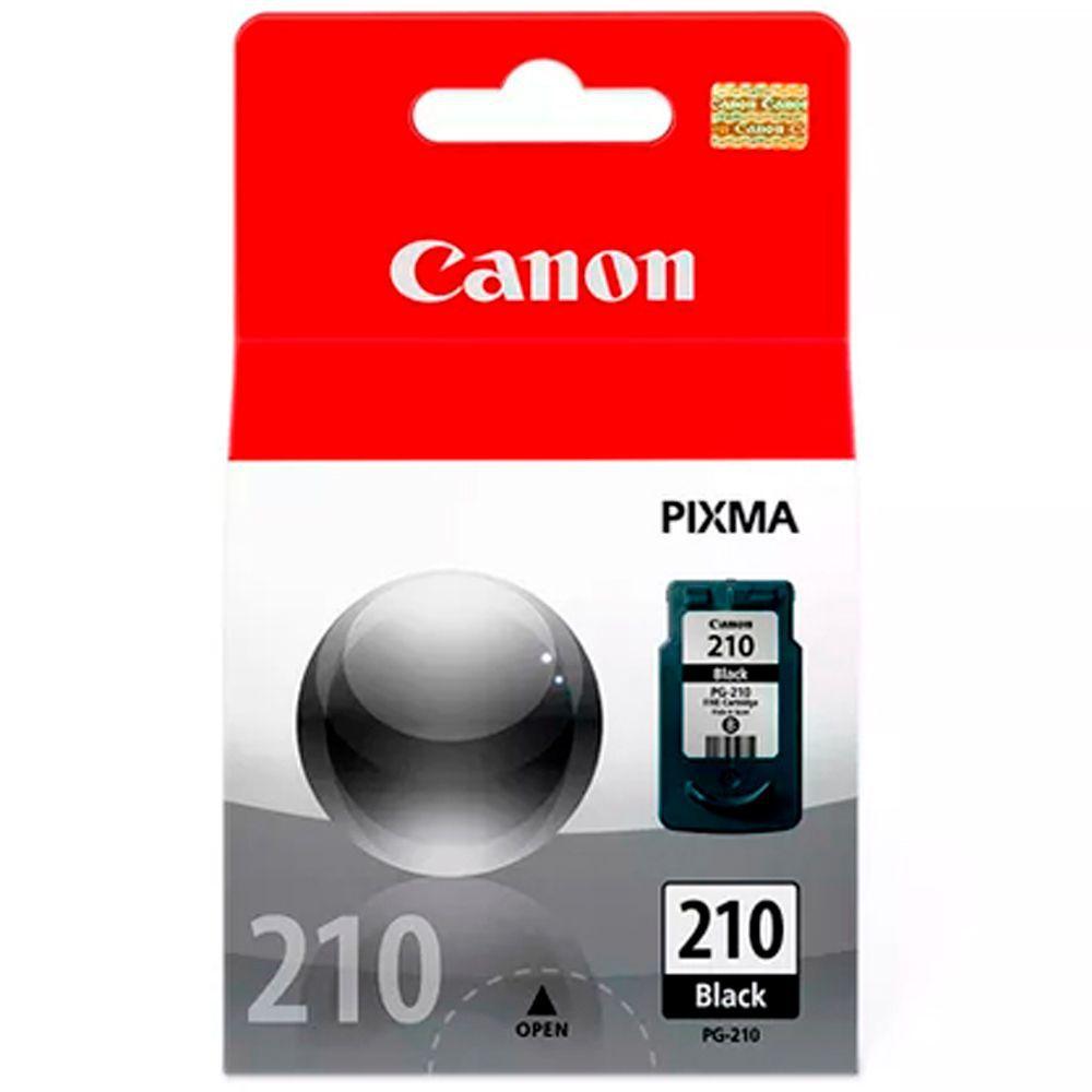 Cartucho de Tinta Canon 210 Preto Original