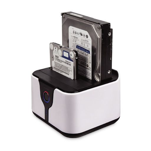 "Dock Station para HD Sata 2.5"" e 3.5"" USB 2.0 Mymax"