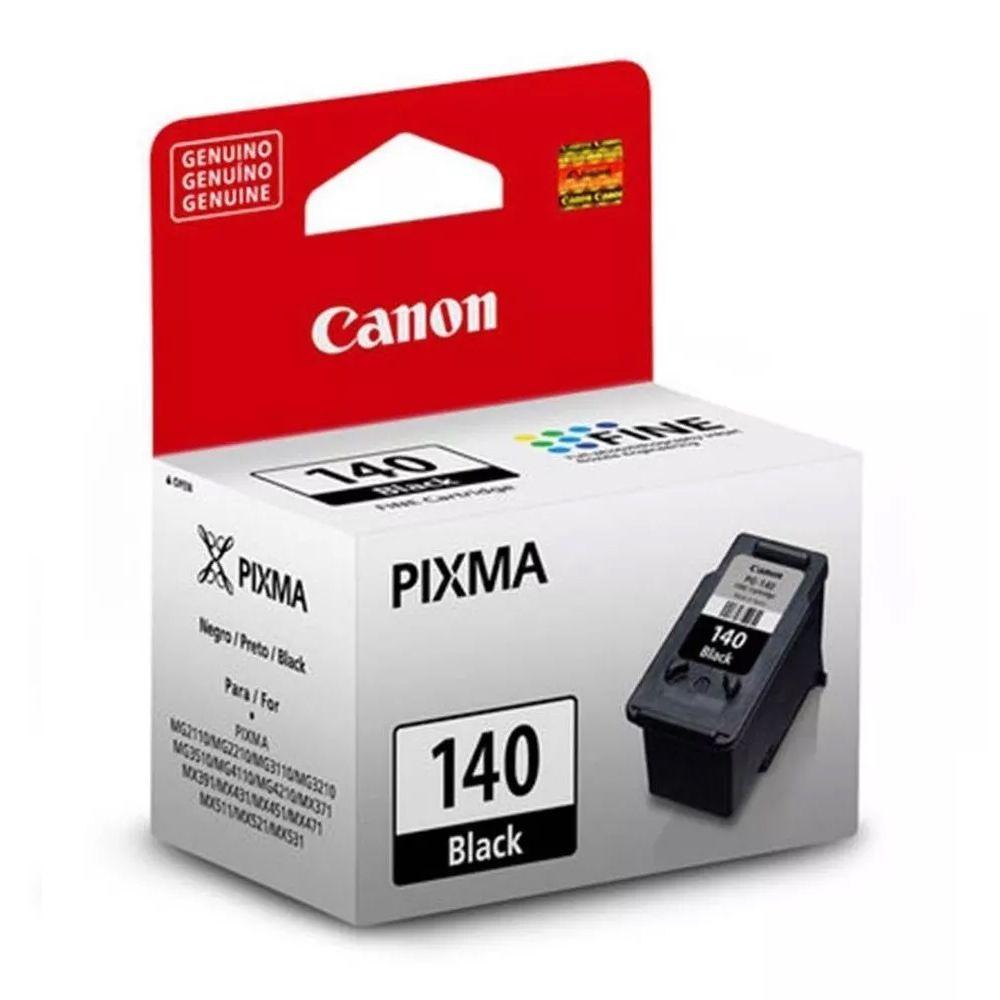 Kit Cartuchos Canon 140 Preto E 141 Colorido Original