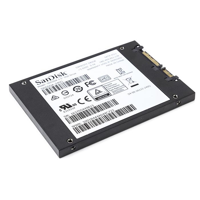 SSD 240GB Leitura 530MB Sandisk SDSSDA-240G-G26