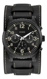 Relógio Masculino Guess Couro Duplo Cronógrafo 92735gpgtpc2