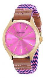Relógio Feminino Mondaine Rosa 76649lpmvdd3 Original