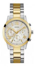Relógio Feminino Guess Prata Dourad 92686lpgdba9