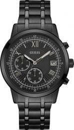 Relógio Masculino Guess Pulseira de Aço Preto Fundo Preto 92680GPGDPA2