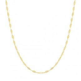 Cordao folheada a ouro rommanel 531298 med. 50 cm