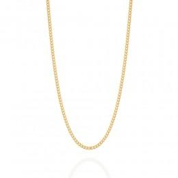 Cordão folheado a ouro fio grumet lixado Rommanel 530295 med. 60 cm