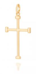 Pingente Rommanel 542208 Cruz Med. 4,1 x 2,1 cm