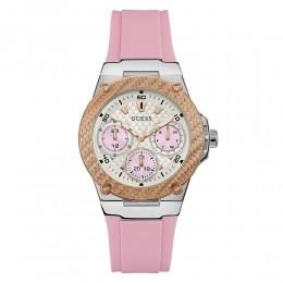 Relógio Feminino Guess Watches Pulseira de Esportivo Rosa Fundo Branco