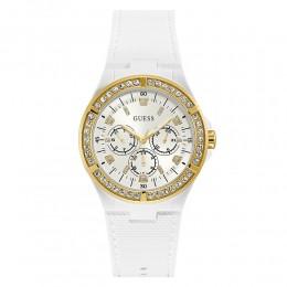 Relógio Feminino Guess Pulseira de Esportivo Branco Fundo Branco 92688LPGSDU2
