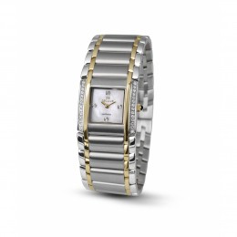 Relógio Feminino Seculus Swiss Made 16742762M2TYW Pulseira de aço e vidro de Safira com 02 anos de Garantia