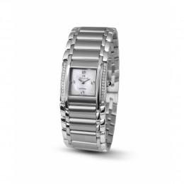 Relógio Feminino Seculus Swiss Made 16742762MSSSTB Pulseira de aço e vidro de Safira com 02 anos de Garantia