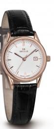Relógio Feminino Seculus Swiss Made Pulseira de  Couro Coleção Romance 1003L4775LBRWP