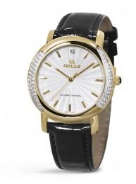 Relógio Feminino Seculus Swiss Made Safira 167321063LBGW