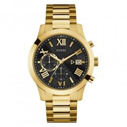 Relógio Masculino Guess Pulseira de Aço Dourado 92722GPGDDA6